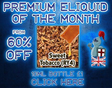 Premium-Eliquid-of-the-month-RY4 Sweet Tobacco Jack
