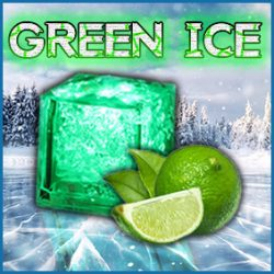 Green Ice Lime Zest Iced