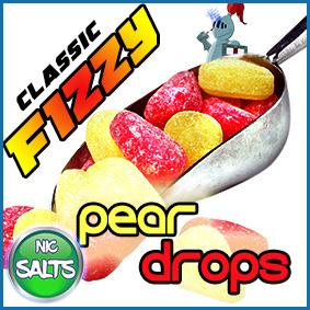 Peardrops-flavour-nic-salts-shot-range-eliquid