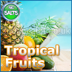 Tropical-fruit-mix-flavour-eliquid-nic-salt-shot-range-ecig-juice