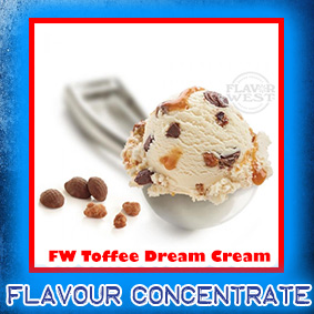 FW-toffee-dream-cream Flavor West Flavour Concentrate