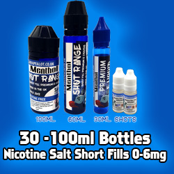 nicotinesalts-shortfills