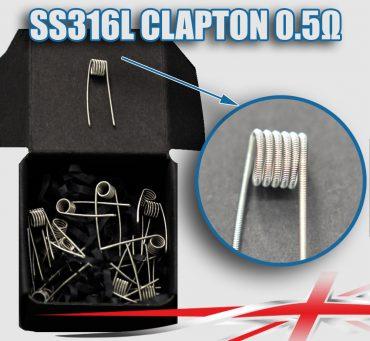 0.5 SS316L-Clapton-coils-bulk-packs