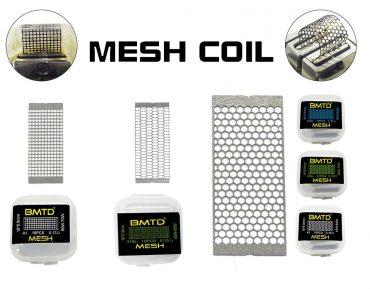 10x Mesh Strips SS316L 0.15 Ohm