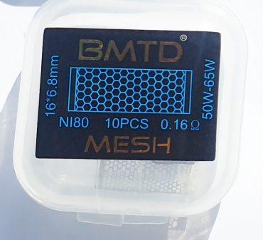 10x Mesh Strips NI80 0.16 Ohm
