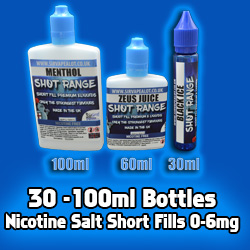 nicotinesalts shortfill eliquid