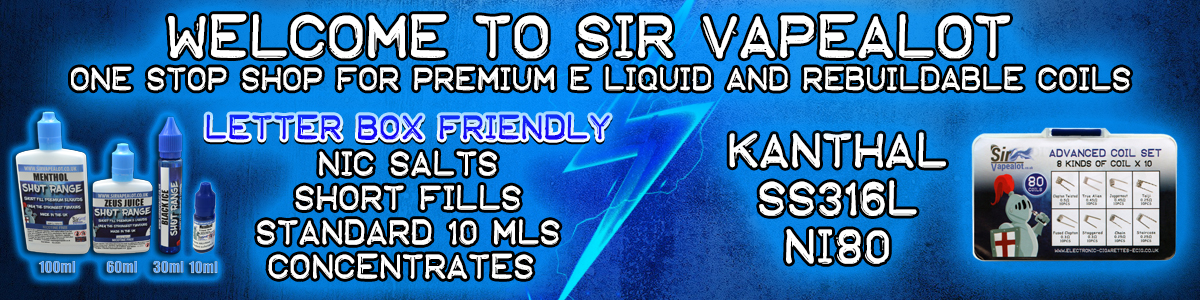 Welcome to Sir Vapealot
